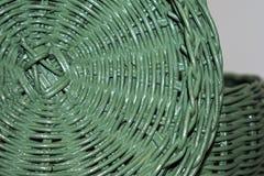 Покрашенный img плетеной корзины Стоковая Фотография RF
