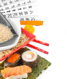 покрашенный multi рис плит Стоковые Изображения RF