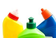 3 покрашенных бутылки тензида Стоковое Изображение