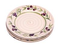 4 покрашенных плиты Стоковое Фото