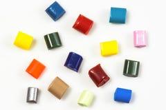 15 покрашенных смол полимера Стоковое Изображение RF