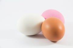 3 покрашенных яичка для варить Стоковое Изображение RF