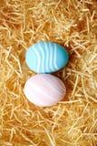 2 покрашенных яичка Стоковые Изображения RF