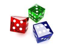 покрашено dices бесплатная иллюстрация