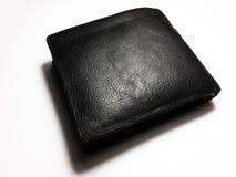 покройте кожей бумажник стоковое изображение rf