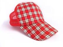 покройте лето красного цвета шотландки Стоковые Фотографии RF