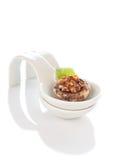 покрывает заполненный champignon Стоковые Изображения RF