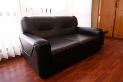 покрынная кожа мебели Стоковая Фотография