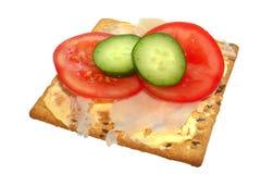 покрынная соя салата льняного семени печенья Стоковое Изображение RF