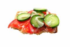 покрынное смачное салата печенья Стоковое фото RF