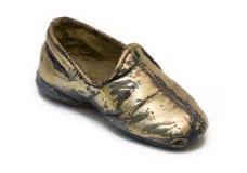 покрынный младенцем серебр ботинка Стоковое Фото