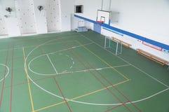 покрытая спортивная площадка Стоковые Изображения RF