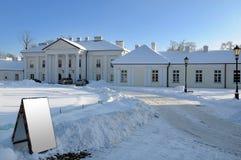 покрытая улица снежка Стоковая Фотография RF