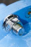 Покрытые хромом гайки - и - болты Стоковое Изображение RF