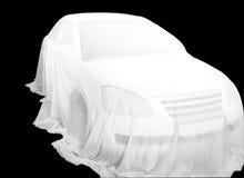 покрытый автомобиль Стоковое фото RF