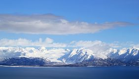 покрытый взгляд снежка ледника Стоковое Изображение