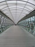Покрытый мост на музее полета Боинга Стоковые Изображения RF