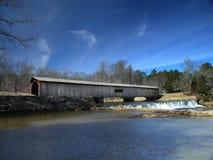 покрытый мост 2 Стоковые Изображения RF
