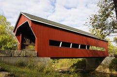 покрытый мост Стоковое Изображение RF