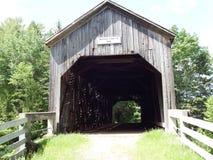 покрытый мост Стоковое Изображение