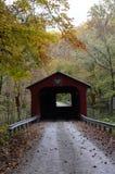покрытый мост Стоковая Фотография RF