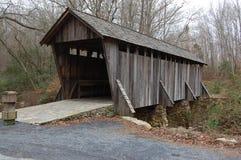 покрытый мост стоковое фото rf