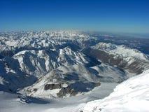 покрытый снежок гор Стоковое Изображение RF