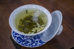 Покрытый чай стоковое изображение rf