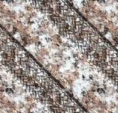 покрышка следов снежка грязи автомобиля Стоковые Изображения