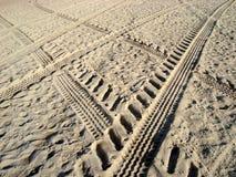 покрышки песка печатей Стоковое Изображение