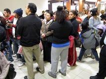 Покупатели барстеров двери Стоковое Фото