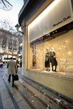 Покупатели с идти сумок Стоковое Изображение RF
