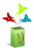 Покупатель бабочки Стоковое Изображение RF