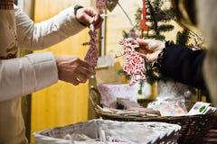 Покупать игрушек рождества Стоковое Фото