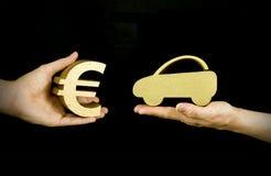 покупая автомобиль Стоковое фото RF