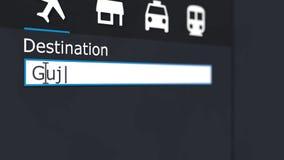 Покупая билет самолета к путешествовать Gujranwala онлайн к Пакистану акции видеоматериалы