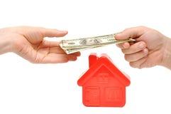 покупая дом новая Стоковое Фото