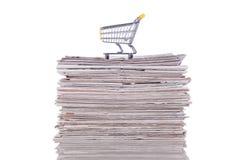 покупая информация Стоковое Изображение RF