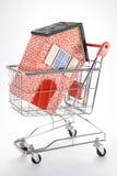 покупая дом Стоковая Фотография