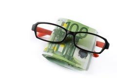 Покупая eyeglasses стоковая фотография