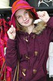 покупка девушки подростковая Стоковая Фотография RF