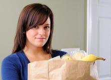 покупка еды Стоковое Фото
