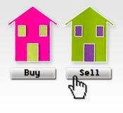 Покупка или надувательство: это проблема! Изображение концепции иллюстрация вектора