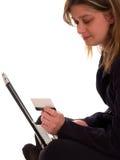 покупка интернета Стоковое Фото
