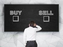 Покупка и надувательство Стоковые Фотографии RF