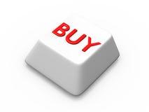 покупка кнопки Стоковые Фотографии RF