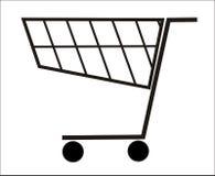 покупка корзины Стоковое Фото