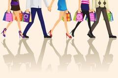 покупка людей Стоковая Фотография