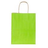 покупка мешка зеленая Стоковые Изображения
