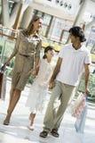покупка мола семьи Стоковая Фотография RF